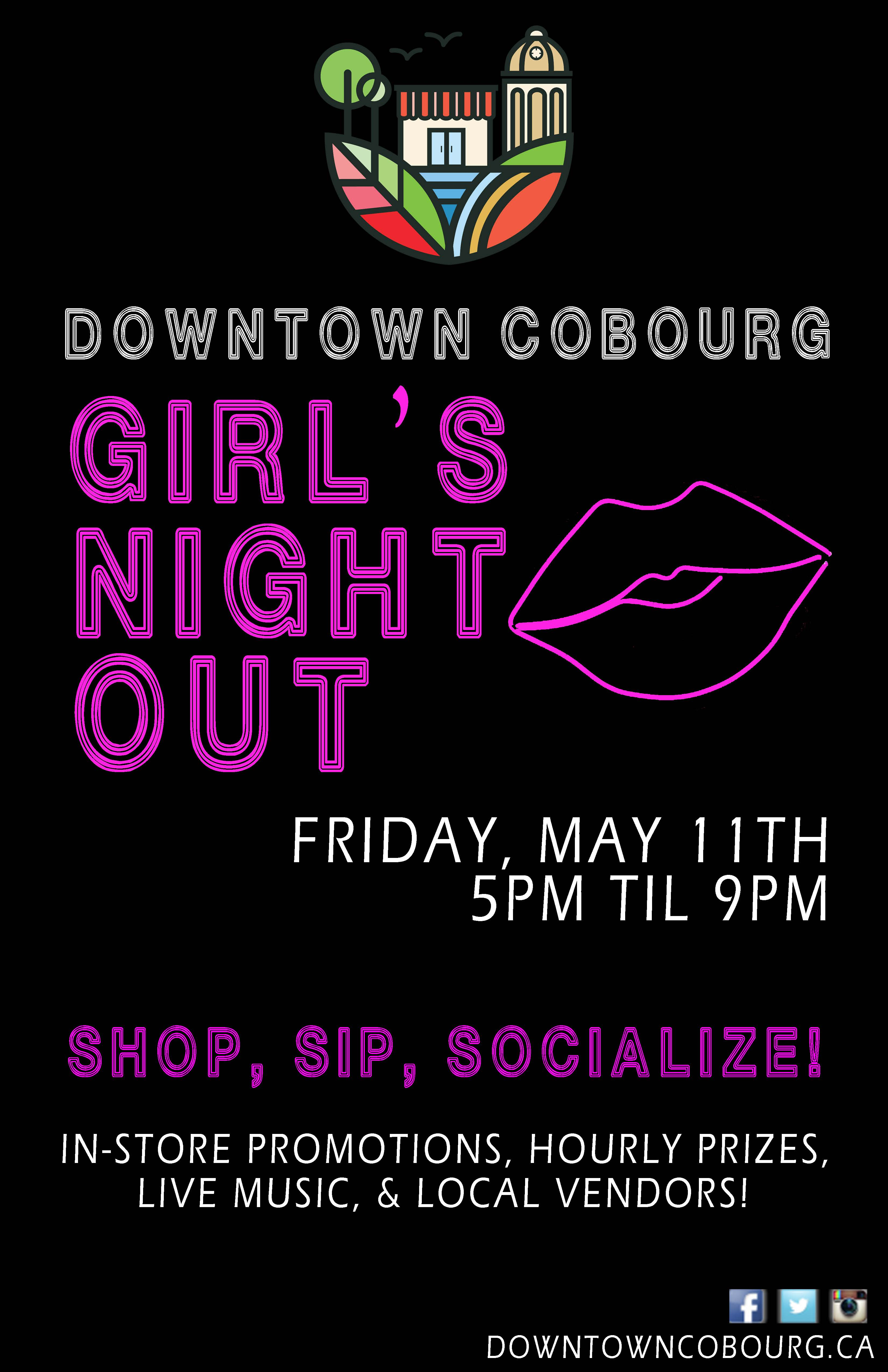 Girl's Night Out Poster