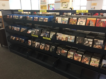 Adult DVDs and blu-rays