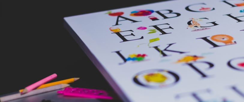 Child alphabet book