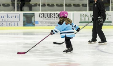 Image of young girl in skating program