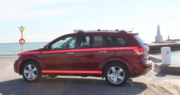 Dodge Journey fire vehicle