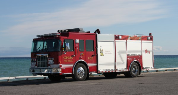 Fire truck picture P372