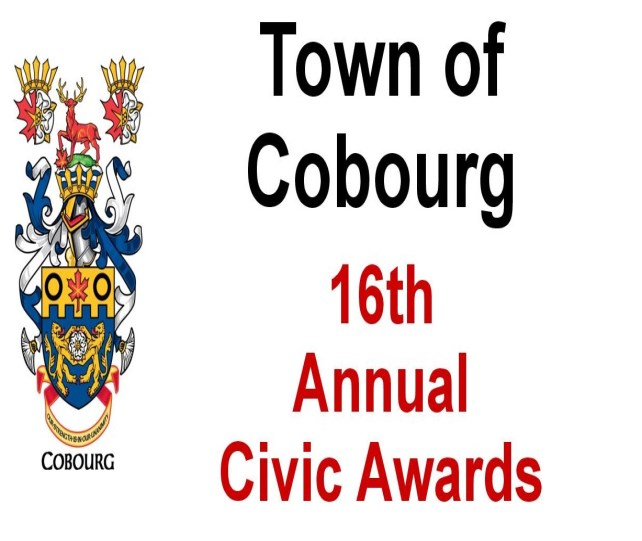 Civic Awards Poster