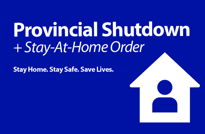 Provincial Emergency 'Stay-At-Home Order'
