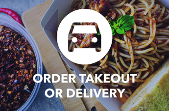 Support Local, Order Take-Out