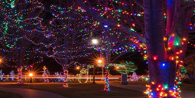 Walk the Gorgeous Christmas Magic Trail of Lights