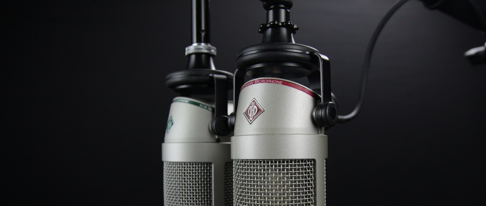 large microphones